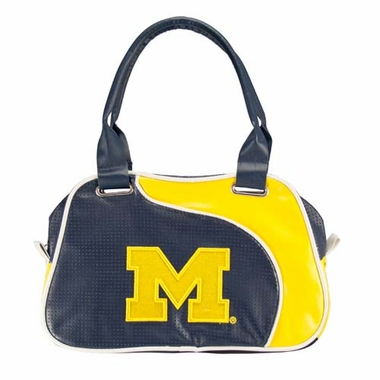 Michigan Perf-ect Bowler Purse