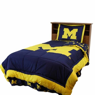Michigan Reversible Comforter Set - Twin