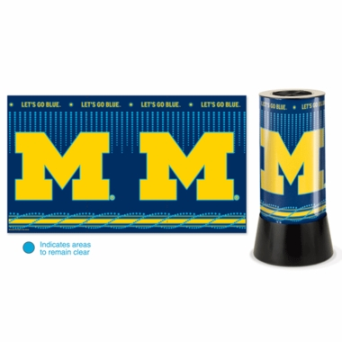 Michigan Rotating Lamp