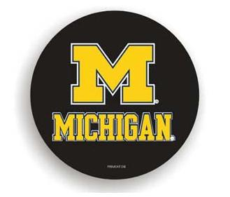 Michigan Wolverines Black Tire Cover - Standard Size