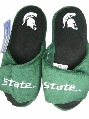 Michigan State 2011 Open Toe Hard Sole Slippers