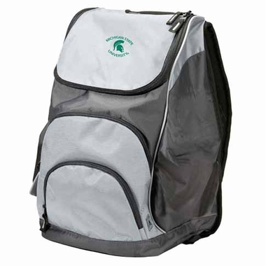 Michigan State Action Backpack (Color: Silver)