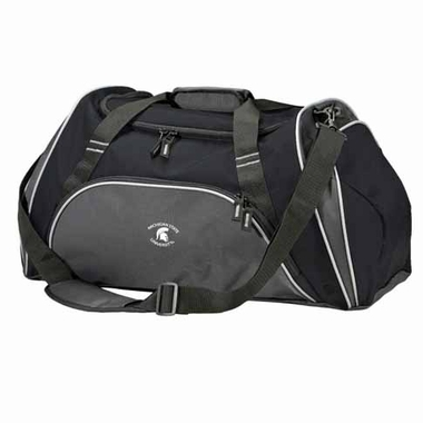 Michigan State Action Duffle (Color: Black)