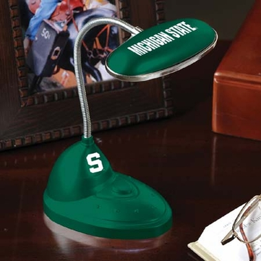 Michigan State Mini LED Desk Lamp