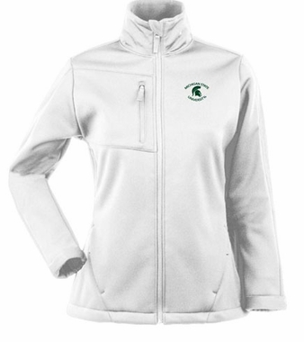 Michigan State Womens Traverse Jacket (Color: White)