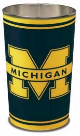 "Michigan Wolverines 15"" Waste Basket"