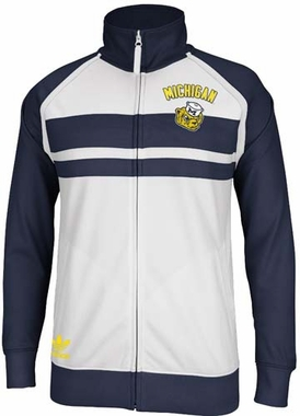 Michigan Wolverines Adidas Originals Retro Track Jacket