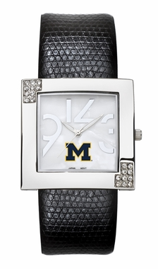 Michigan Women's Glamour Watch