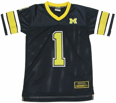 Michigan Youth Stadium Football Jersey