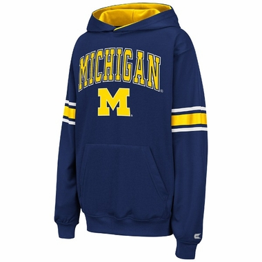 Michigan YOUTH Throwback Hooded Sweatshirt