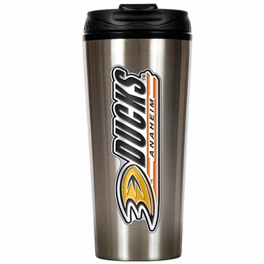 Anaheim Ducks 16 oz. Thermo Travel Tumbler