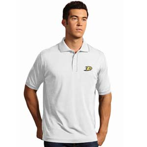 Anaheim Ducks Mens Elite Polo Shirt (Color: White) - XX-Large