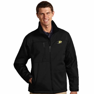 Anaheim Ducks Mens Traverse Jacket (Color: Black)
