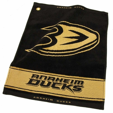 Anaheim Ducks Woven Golf Towel