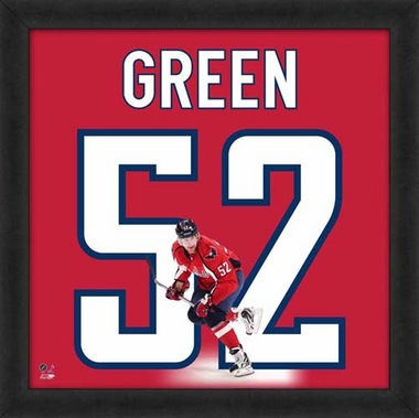 "Mike Green, Capitals UNIFRAME 20"" x 20"""