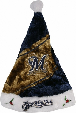Milwaukee Brewers 08 Santa Hat