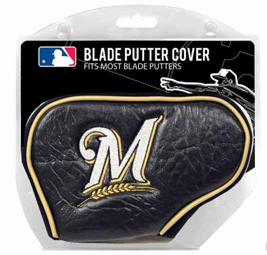 Milwaukee Brewers Blade Putter Cover