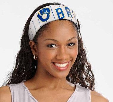 Milwaukee Brewers FanBand Hair Band