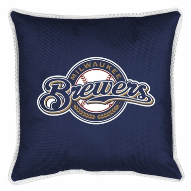 Milwaukee Brewers SIDELINES Toss Pillow
