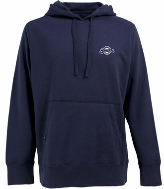 Milwaukee Brewers Mens Signature Hooded Sweatshirt (Color: Navy)