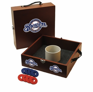 Milwaukee Brewers Washer Toss Game