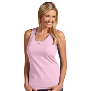 Milwaukee Brewers Womens Sport Tank Top (Color: Pink) - Large