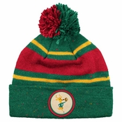 huge selection of a1138 59e76 Milwaukee Bucks Mitchell   Ness Speckled Cuffed Knit Hat w  Pom