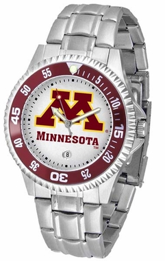 Minnesota Competitor Steel Band Mens Watch