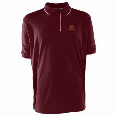 Minnesota Mens Elite Polo Shirt (Color: Maroon)
