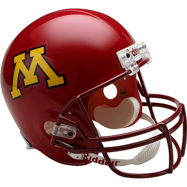 Minnesota Golden Gophers Riddell Deluxe Replica Helmet