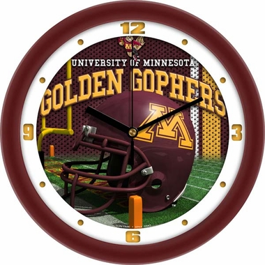 Minnesota Helmet Wall Clock