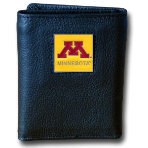 Minnesota Leather Trifold Wallet (F)
