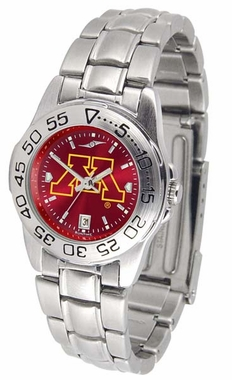 Minnesota Sport Anonized Women's Steel Band Watch
