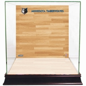 Minnesota Timberwolves Display Cases