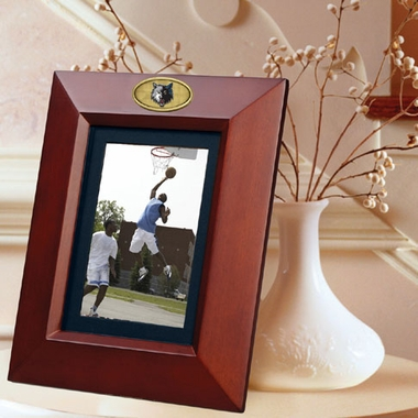 Minnesota Timberwolves BROWN Portrait Picture Frame