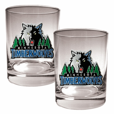 Minnesota Timberwolves Double Rocks Set