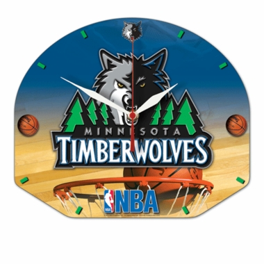 Minnesota Timberwolves High Definition Wall Clock