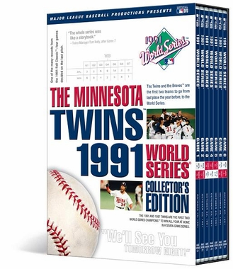 Minnesota Twins 1991 World Series Collector's Edition DVD