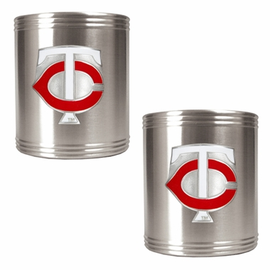 Minnesota Twins 2 Can Holder Set