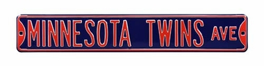 Minnesota Twins Ave Street Sign