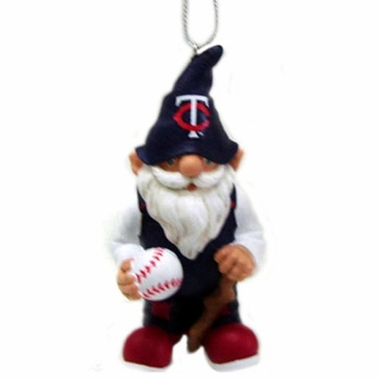 Minnesota Twins Gnome Christmas Ornament