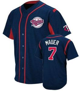 Minnesota Twins Joe Mauer Wind Up Jersey - Large