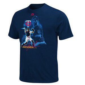Minnesota Twins Joe Mauer YOUTH Player of the Game T-Shirt - Small