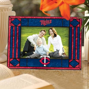 Minnesota Twins Landscape Art Glass Picture Frame