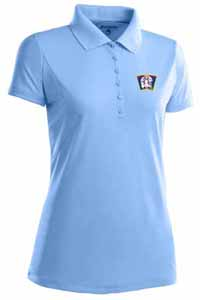 Minnesota Twins Womens Pique Xtra Lite Polo Shirt (Cooperstown) (Color: Aqua) - X-Large