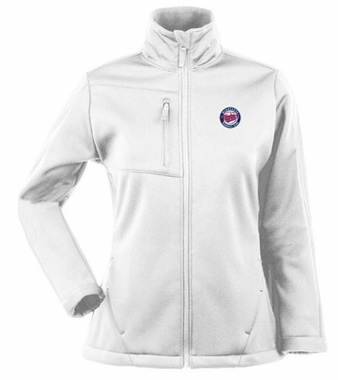 Minnesota Twins Womens Traverse Jacket (Color: White)
