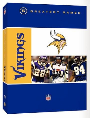 Minnesota Vikings 5 Greatest Games DVD
