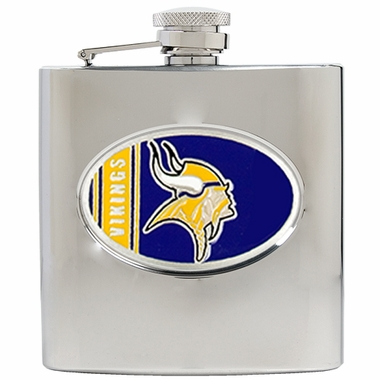 Minnesota Vikings 6 oz. Hip Flask