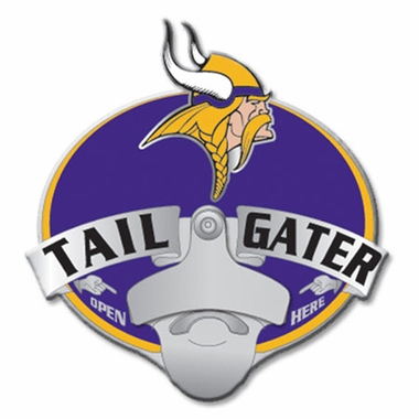 Minnesota Vikings Bottle Opener Hitch Cover