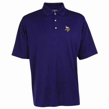 Minnesota Vikings Mens Exceed Polo (Color: Purple)